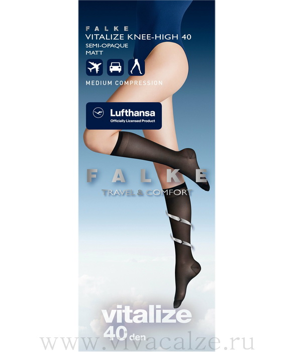41746 VITALIZE 40 knee-high гольфы