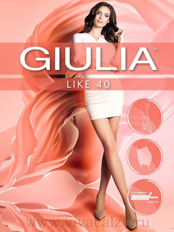 Колготки Giulia Like размер 3 плотность 40 Den Daino