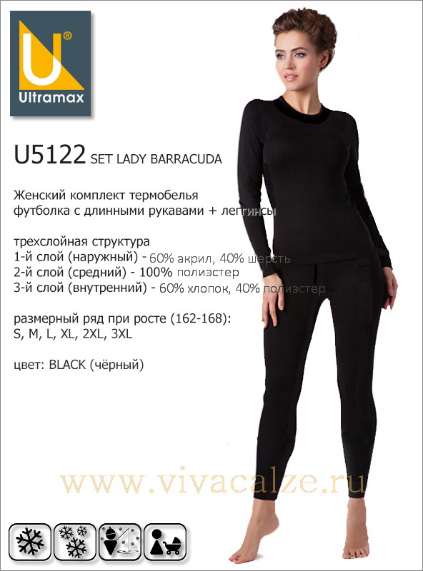 U5122 SET LADY BARRACUDA