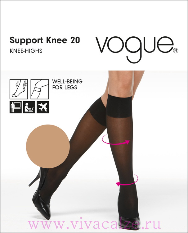 SUPPORT 20 knee highs